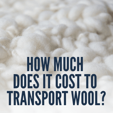 How Much Does It Cost to Transport Wool