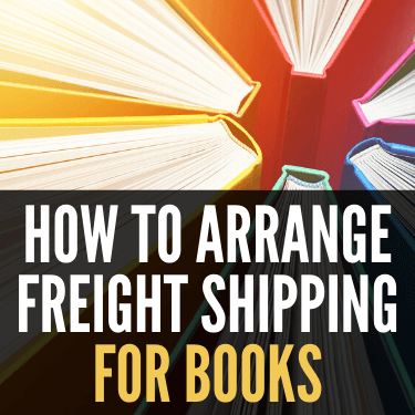 How to Arrange Freight Shipping for Books