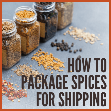 How to Package Spices for Shipping