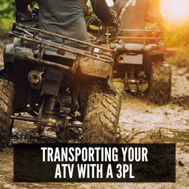Transporting Your ATV with a 3PL