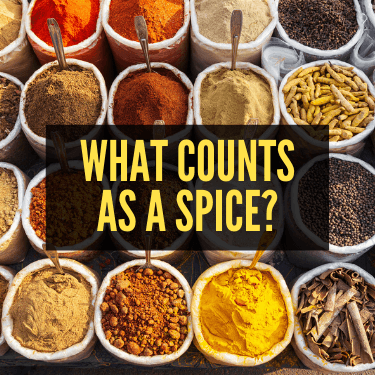 What Counts as a Spice