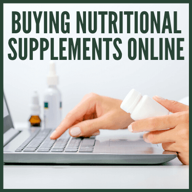 Buying Nutritional Supplements Online