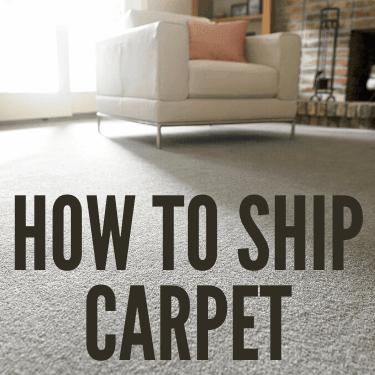 How to Ship Carpet