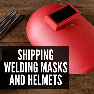 Shipping Welding Masks and Helmets