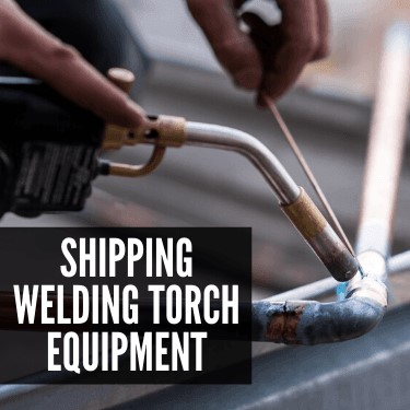 Shipping Welding Torch Equipment