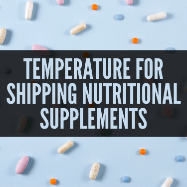 Temperature For Shipping Nutritional Supplements