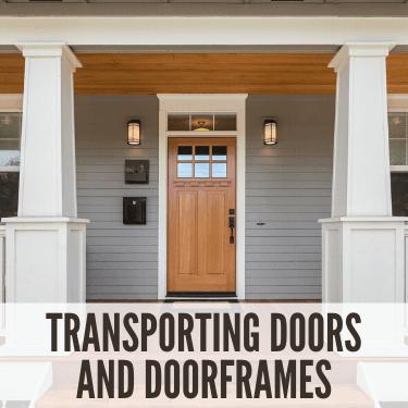 Transporting Doors and Doorframes