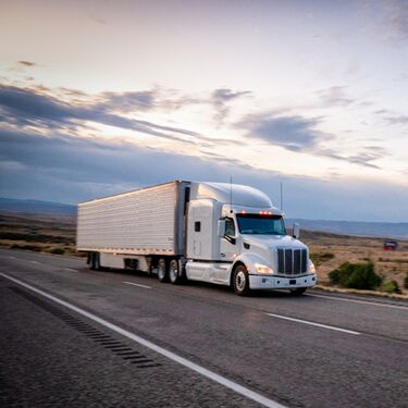 Expedited Freight Quote White Truckload on Highway