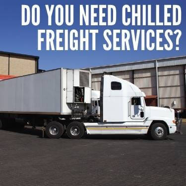 Do You Need Chilled Freight Services