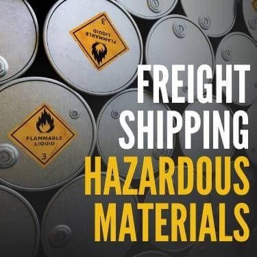 Freight Shipping Hazardous Materials