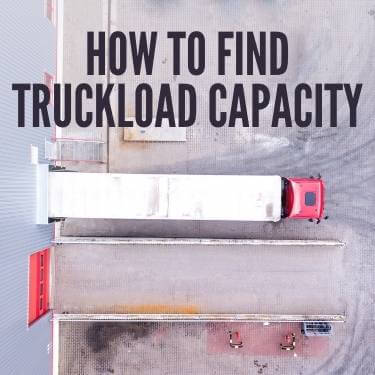 how to find truckload capacity