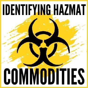 Identifying Hazmat Commodities