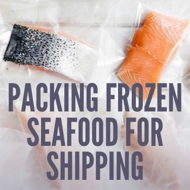Packing Frozen Seafood For Shipping