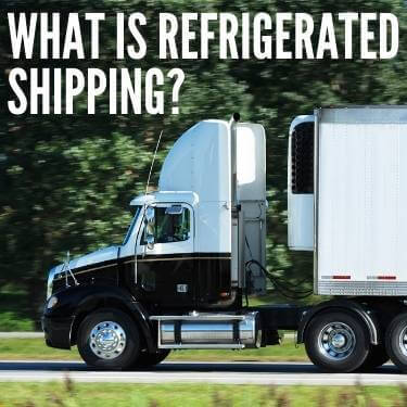 What is Refrigerated Shipping