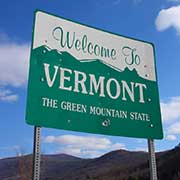 Truckload Shipping Freight from Vermont to Florida Sign