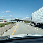 Truckload Shipping Freight From Wyoming to California Highway