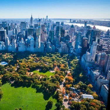 Freight Shipping from Wisconsin to New York - Aerial View of Central Park