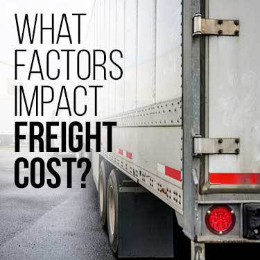 what-factors-impact-freight-cost