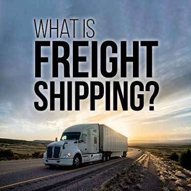 what-is-freight-shipping