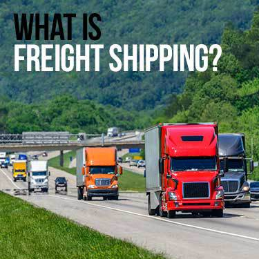what is freight shipping
