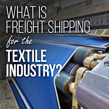 what-is-freight-shipping-for-the-textile-industry